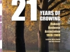 21 Year of Growing Front Cover