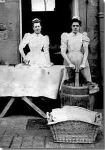 laundry workers 19th century